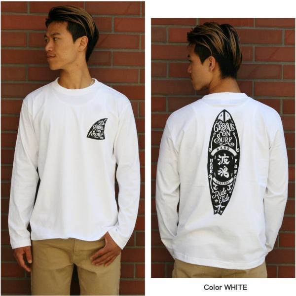 ロンT メンズ 半袖 ティーシャツ TEE グルーブオン GROOVEON XL XXL 2XL 3L 黒 白 ブランド 人気 アメカジ ストリート系 サーフ系 /3045/ golt4606 attention-store 08