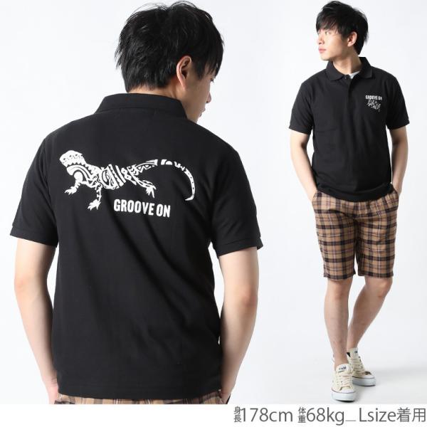 ポロシャツ メンズ 半袖 ポロシャツ カノコ ポロシャツ GROOVEON グルーブオン アメカジ ワーク サーフ ストリート系 ファッション M L XL XXL attention-store 11