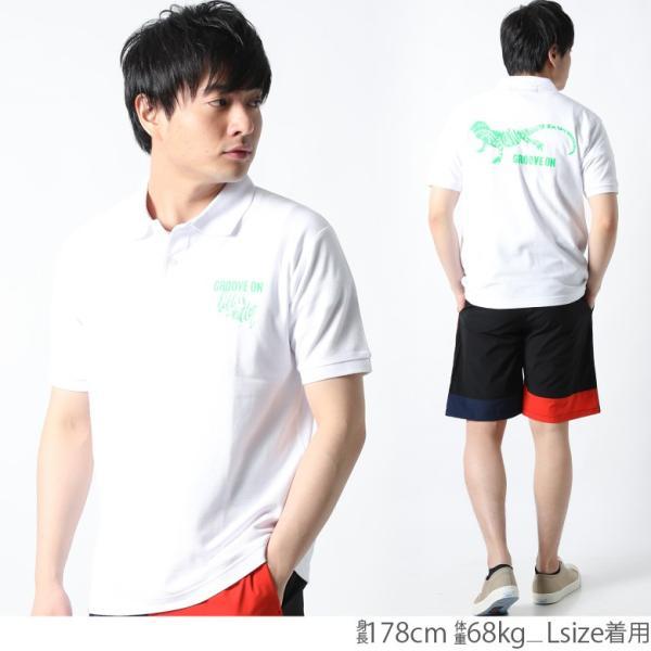 ポロシャツ メンズ 半袖 ポロシャツ カノコ ポロシャツ GROOVEON グルーブオン アメカジ ワーク サーフ ストリート系 ファッション M L XL XXL attention-store 09