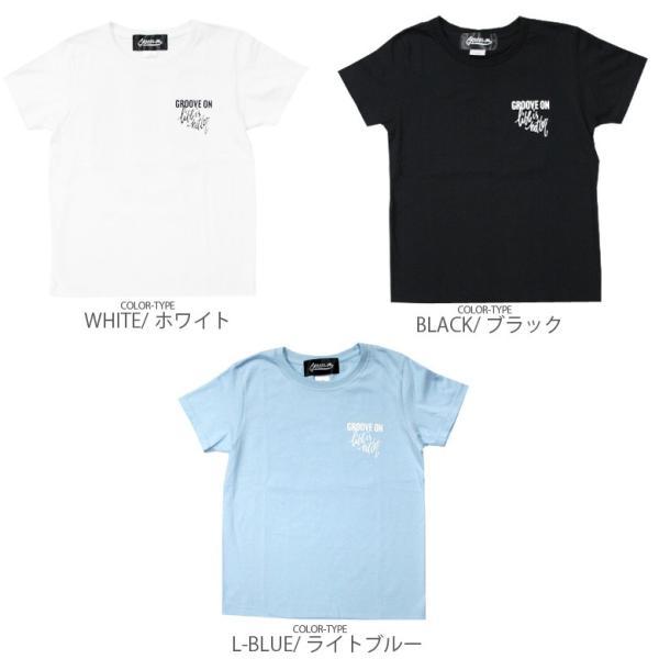 Tシャツ レディース 半袖 ティーシャツ TEE グルーブオン GROOVEON M L 黒 ブラック 白 ホワイト ルード系 ブランド アメカジ ストリート系 サーフ系 /3045/|attention-store|05