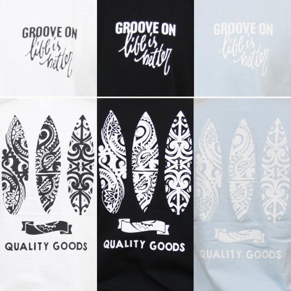 Tシャツ レディース 半袖 ティーシャツ TEE グルーブオン GROOVEON M L 黒 ブラック 白 ホワイト ルード系 ブランド アメカジ ストリート系 サーフ系 /3045/|attention-store|10