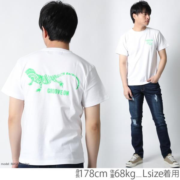 Tシャツ メンズ 半袖 ブランド グルーブオン GROOVEON ストリート アメカジ サーフ系 黒 白 大きいサイズ XL XXL プリント ロゴ /3045/ attention-store 05