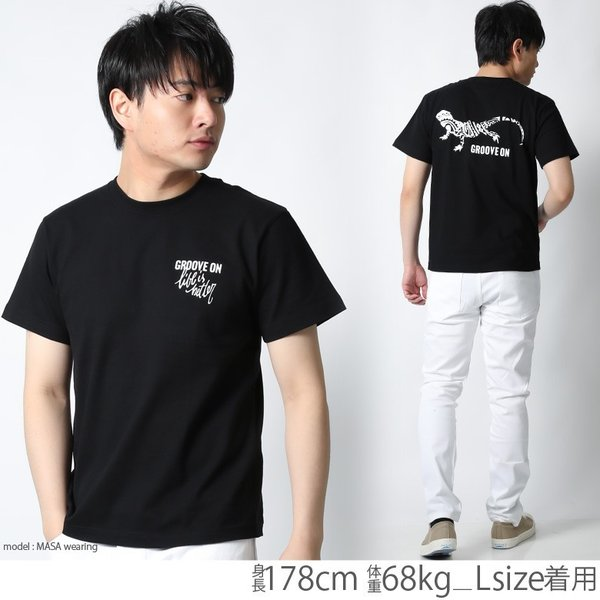 Tシャツ メンズ 半袖 ブランド グルーブオン GROOVEON ストリート アメカジ サーフ系 黒 白 大きいサイズ XL XXL プリント ロゴ /3045/ attention-store 07