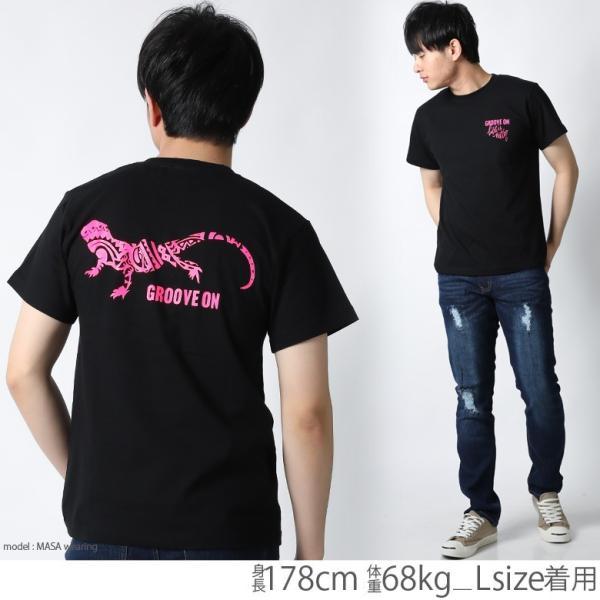Tシャツ メンズ 半袖 ブランド グルーブオン GROOVEON ストリート アメカジ サーフ系 黒 白 大きいサイズ XL XXL プリント ロゴ /3045/ attention-store 09