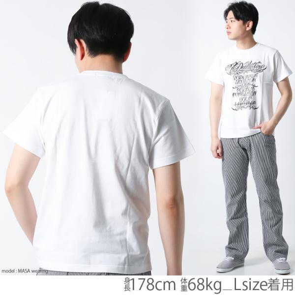 Tシャツ メンズ 半袖 ブランド アイディー EYEDY 西海岸 ストリート ワーク アメカジ 黒 白 大きいサイズ XL XXL プリント ロゴ /3045/|attention-store|08