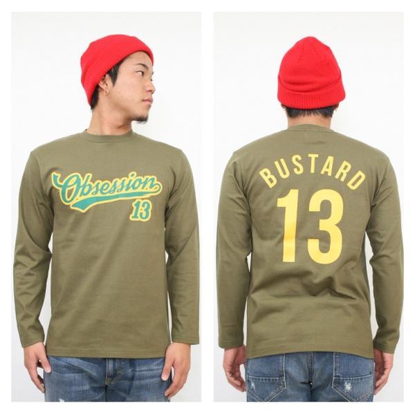 ロンT ストリート ブランド メンズ 長袖 Tシャツ プリント OBSESSION オブセッション ロゴ 大きいサイズ /3045/|attention-store|06