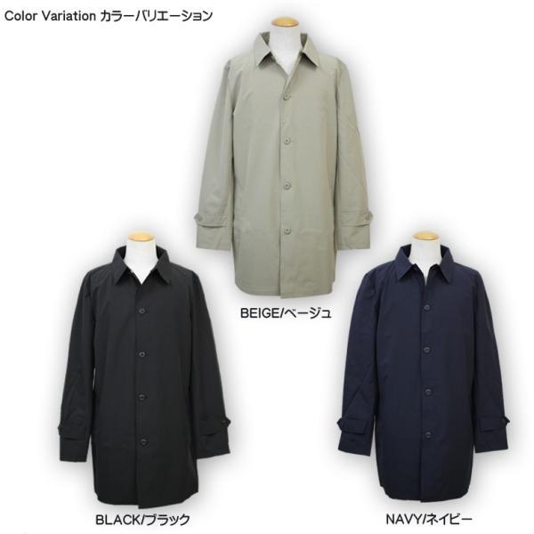 REALCONTENTS メンズ コート ステンカラーコート リアルコンテンツ ジャケット ブラック ネイビー ベージュ M L XL アメカジ ファッション|attention-store|02