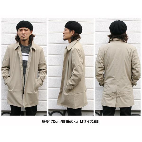 REALCONTENTS メンズ コート ステンカラーコート リアルコンテンツ ジャケット ブラック ネイビー ベージュ M L XL アメカジ ファッション|attention-store|11