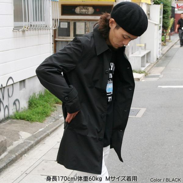 REALCONTENTS メンズ コート ステンカラーコート リアルコンテンツ ジャケット ブラック ネイビー ベージュ M L XL アメカジ ファッション|attention-store|07