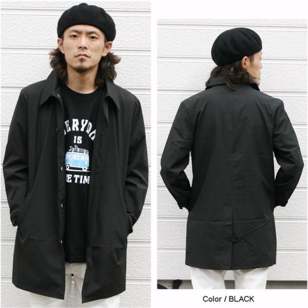 REALCONTENTS メンズ コート ステンカラーコート リアルコンテンツ ジャケット ブラック ネイビー ベージュ M L XL アメカジ ファッション|attention-store|08