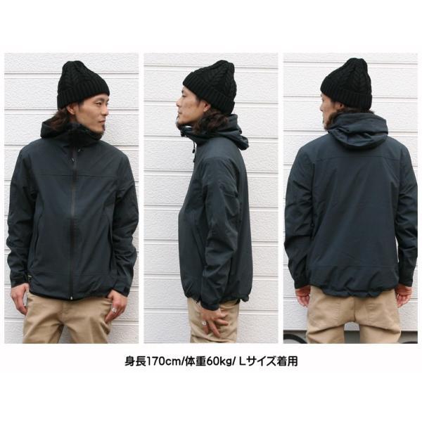 REALCONTENTS マウンテンパーカー メンズ ジャケット マンパ ライトアウター フード 止水ジップ リアルコンテンツ ストリート 黒 ブラック M L XL XXL attention-store 15