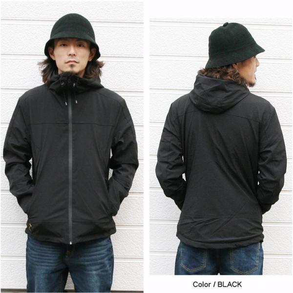 REALCONTENTS マウンテンパーカー メンズ ジャケット マンパ ライトアウター フード 止水ジップ リアルコンテンツ ストリート 黒 ブラック M L XL XXL attention-store 04