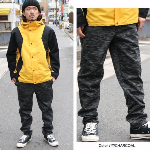REALCONTENTS パンツ メンズ 防風 暖パン ボトムス ストレッチ リアルコンテンツ ストリート系 ファッション 黒 ブラック グレー M L XL XXL 大きいサイズ|attention-store|07
