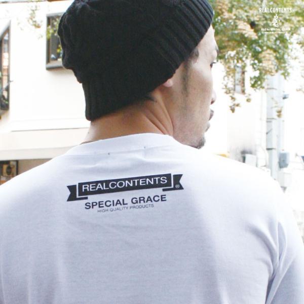 ロンT ストリート ブランド メンズ 長袖 Tシャツ プリント REALCONTENTS リアルコンテンツ ロゴ 大きいサイズ /3045/|attention-store|06