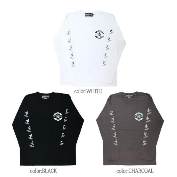 ロンT ストリート ブランド メンズ 長袖 Tシャツ プリント REALCONTENTS リアルコンテンツ ロゴ 大きいサイズ /3045/ attention-store 02