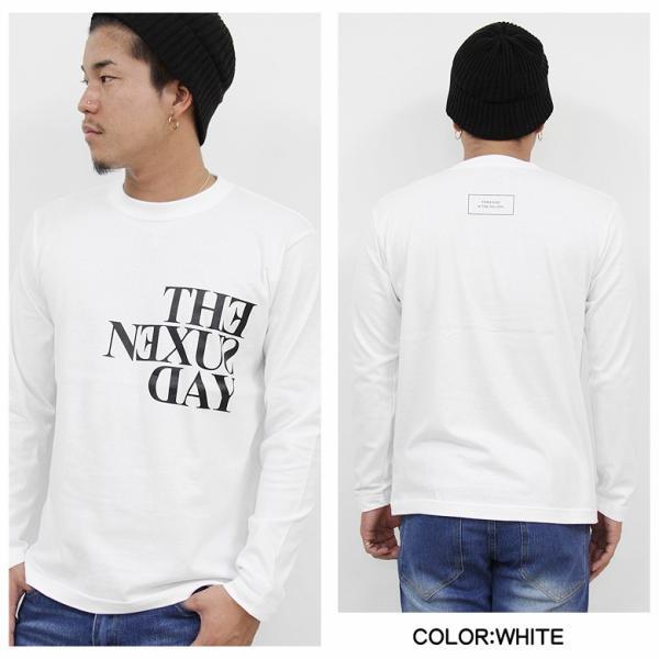 ロンT メンズ 長袖 Tシャツ ロングTシャツ リアルコンテンツ M L XL XXL 2XL 3L 大きいサイズ B系 ブランド 人気 アメカジ ストリート系 ファッション /3045/ attention-store 03