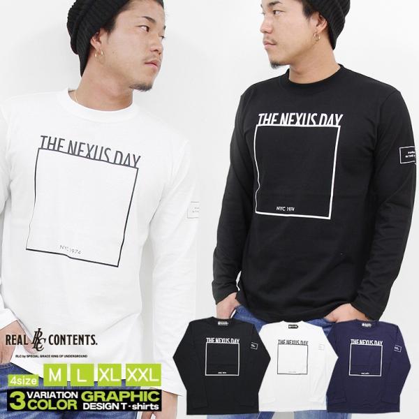 【リアルコンテンツ REALCONTENTS】 長袖Tシャツ rclt1247/3045/|attention-store