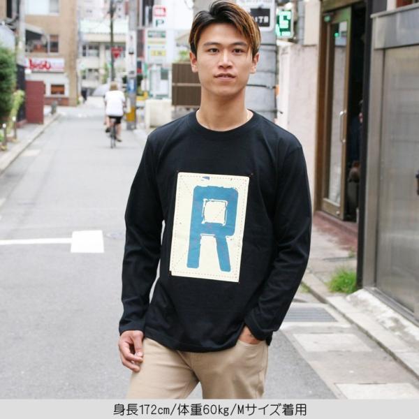 ロンT メンズ 長袖 Tシャツ ロングTシャツ リアルコンテンツ M L XL XXL 2XL 3L 大きいサイズ B系 ブランド 人気 アメカジ ストリート系 ファッション /3045/ attention-store 11