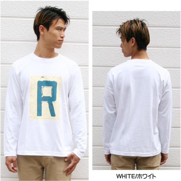 ロンT メンズ 長袖 Tシャツ ロングTシャツ リアルコンテンツ M L XL XXL 2XL 3L 大きいサイズ B系 ブランド 人気 アメカジ ストリート系 ファッション /3045/ attention-store 08