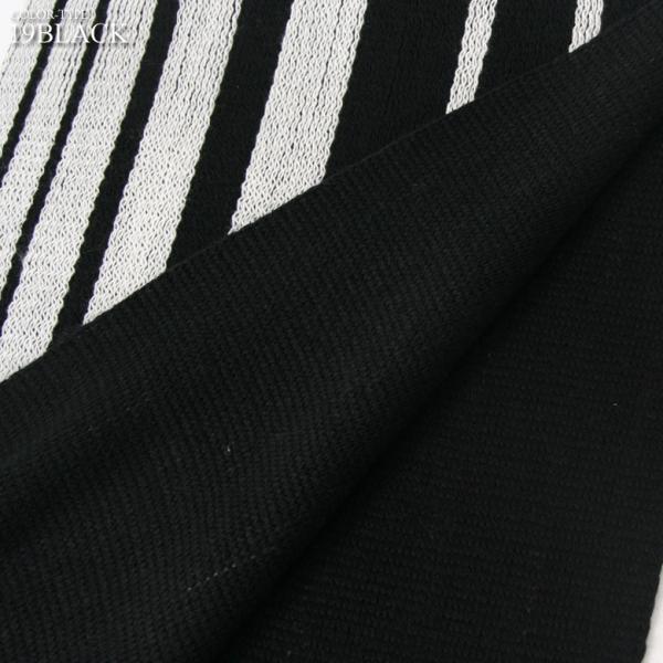 REALCONTENTS マフラー 日本製 リバーシブル メンズ レディース ユニセックス ストライプ ロング アメカジ リアルコンテンツ グレー ブラック ネイビー|attention-store|07