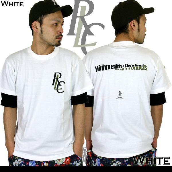 Tシャツ メンズ 半袖 ブランド リアルコンテンツ REALCONTENTS ストリート 黒 白 ダンス 大きいサイズ XL XXL プリント ロゴ /3045/|attention-store|02