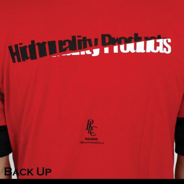 Tシャツ メンズ 半袖 ブランド リアルコンテンツ REALCONTENTS ストリート 黒 白 ダンス 大きいサイズ XL XXL プリント ロゴ /3045/|attention-store|06