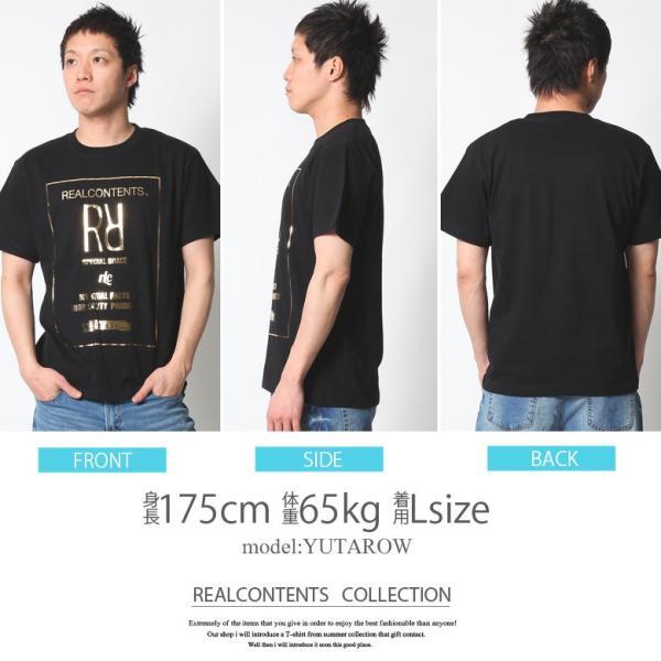 Tシャツ メンズ 半袖 アメカジ ワーク ストリート サーフ 黒 白 大きいサイズ M L XL XXL 2L 3L プリント ロゴ カットソー REALCONTENTS リアルコンテンツ|attention-store|11
