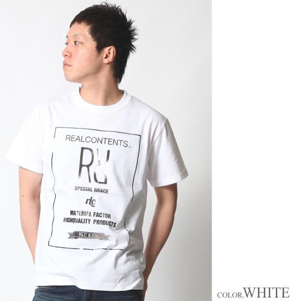 Tシャツ メンズ 半袖 アメカジ ワーク ストリート サーフ 黒 白 大きいサイズ M L XL XXL 2L 3L プリント ロゴ カットソー REALCONTENTS リアルコンテンツ|attention-store|05