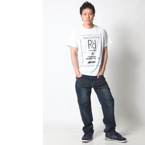 Tシャツ メンズ 半袖 アメカジ ワーク ストリート サーフ 黒 白 大きいサイズ M L XL XXL 2L 3L プリント ロゴ カットソー REALCONTENTS リアルコンテンツ|attention-store|06