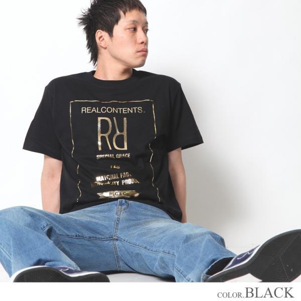 Tシャツ メンズ 半袖 アメカジ ワーク ストリート サーフ 黒 白 大きいサイズ M L XL XXL 2L 3L プリント ロゴ カットソー REALCONTENTS リアルコンテンツ|attention-store|07