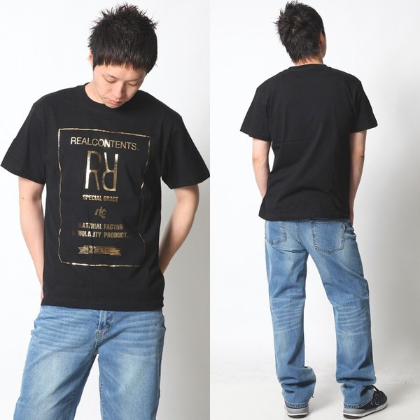 Tシャツ メンズ 半袖 アメカジ ワーク ストリート サーフ 黒 白 大きいサイズ M L XL XXL 2L 3L プリント ロゴ カットソー REALCONTENTS リアルコンテンツ|attention-store|08