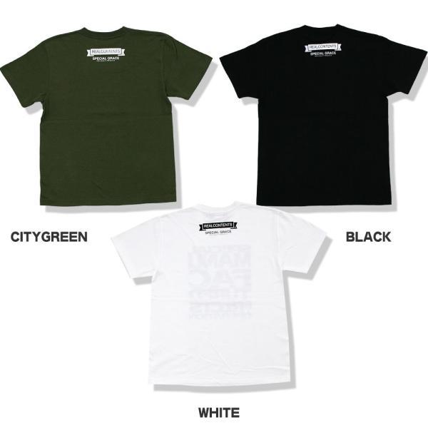 Tシャツ メンズ 半袖 ブランド リアルコンテンツ REALCONTENTS ストリート 黒 白 ダンス 大きいサイズ XL XXL プリント ロゴ /3045/ attention-store 04