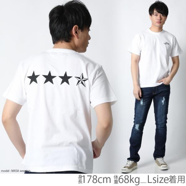Tシャツ メンズ 半袖 ブランド リアルコンテンツ REALCONTENTS 星 スター ストリート アメカジ サーフ系 黒 白 大きいサイズ XL XXL プリント ロゴ /3045/|attention-store|08