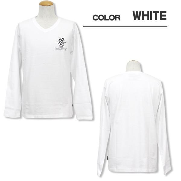 ロンT メンズ 長袖 Tシャツ ロングTシャツ リアルコンテンツ M L XL XXL 2XL 3L REALCONTENTS ストリート系 ファッション /3045/|attention-store|02