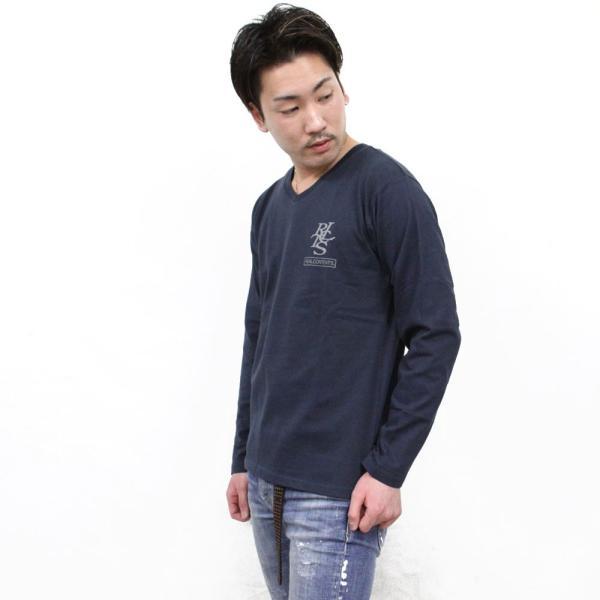 ロンT メンズ 長袖 Tシャツ ロングTシャツ リアルコンテンツ M L XL XXL 2XL 3L REALCONTENTS ストリート系 ファッション /3045/|attention-store|06