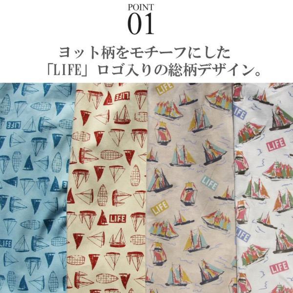 シャツ 半袖 日本製 国産 総柄 LIFEMAG メンズ カジュアルシャツ ワークシャツ アロハシャツ 開襟 オープンカラー M L LL XL 2L 柄シャツ|attention-store|03