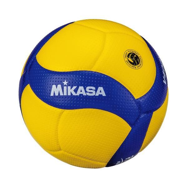 [MIKASA]ミカサ 小学生バレーボール 検定球4号軽量 (V400W-L) 2019年新デザイン[取寄商品]
