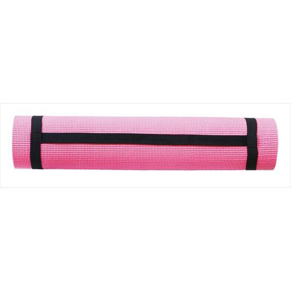 [サクライ貿易] ヨガマット 6mm (PWF-05PK) ピンク[取寄商品]