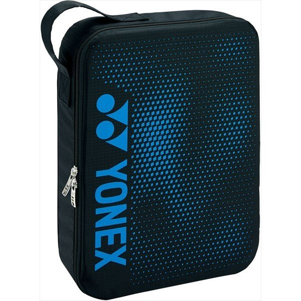 [YONEX]ヨネックス ランドリーポーチL (BAG2096L)(188) ブラック/ブルー[取寄商品]
