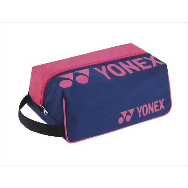 [YONEX]ヨネックス シューズケース (BAG2133)(675) ネイビー/ピンク[取寄商品]