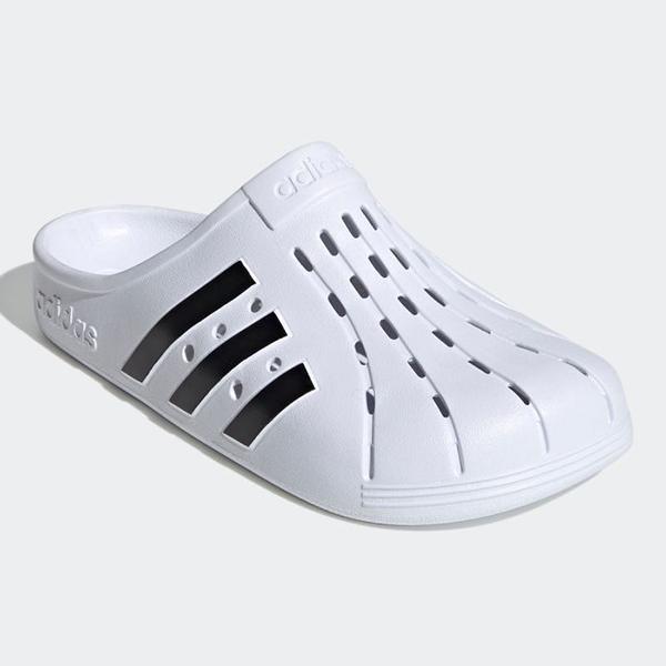adidas アディダスクロッグサンダルアディレッタクロッグU(FY8970)フットウェアホワイト/コア