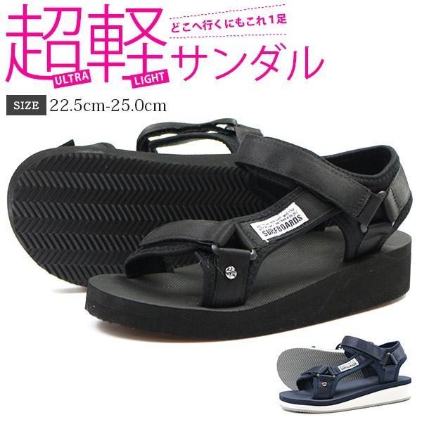 サンダルレディース靴nevsurfnev-15スポーツ軽いスポサンおしゃれ黒