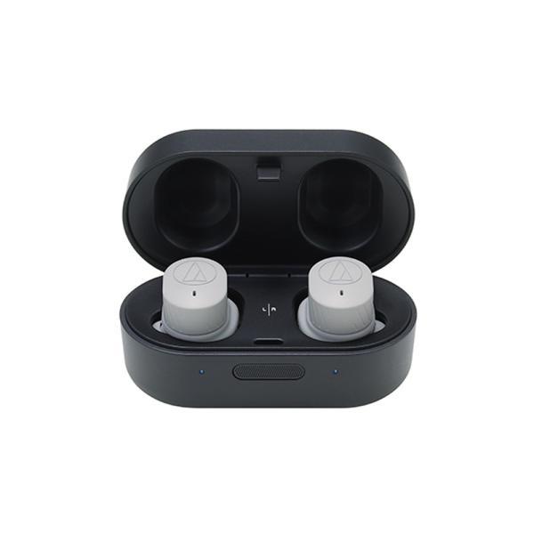 audio-technica - ATH-SPORT7TW-GY(グレー)(防水機能付き・完全ワイヤレスイヤホン)【在庫有り即納】