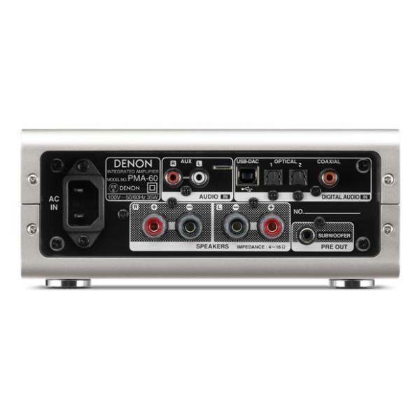 DENON - PMA-60/プレミアムシルバー(USB-DAC搭載プリメインアンプ)【在庫有り即納】|audio-ippinkan|03