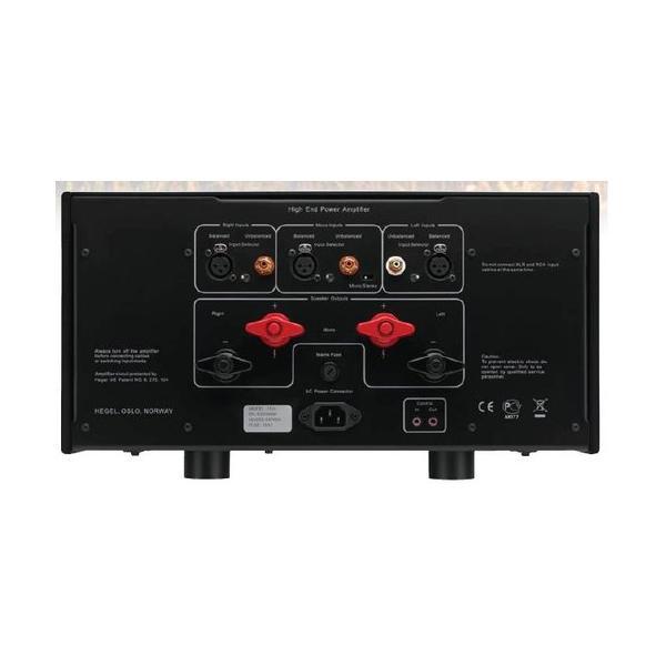 HEGEL - H30/ブラック(ステレオパワーアンプ)