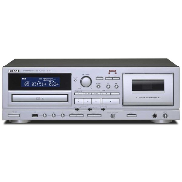 TEAC - AD-850(カセットデッキ+CDプレーヤー)『2/1〜3/31までキャッシュバックキャンペーン実施中』【在庫有り即納】|audio-ippinkan
