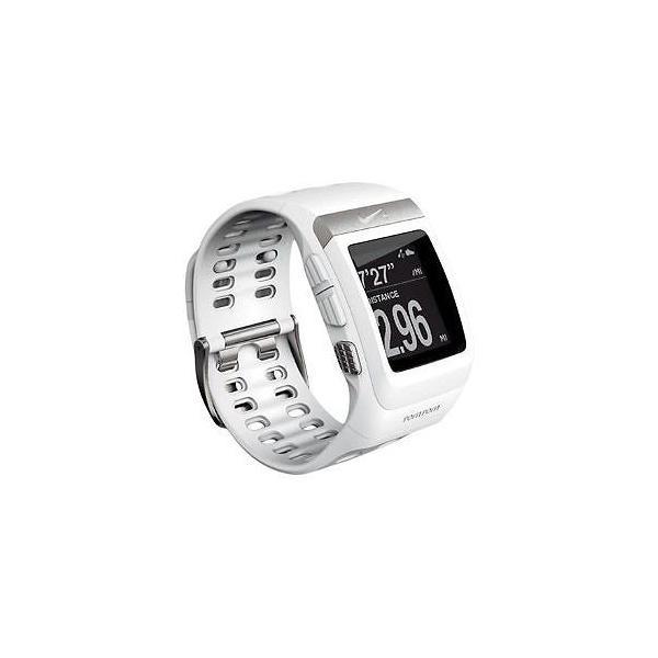4d85715082 ランニングウォッチ ナイキ スポーツウォッチ Nike+ SportWatch GPS White/Silver ホワイト シルバー|直輸入