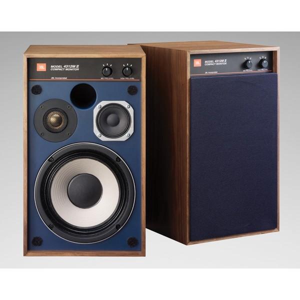 【即納!】JBL 4312M2WX(ウォールナット仕上げ・2本1組) スピーカー 13.3cm 3ウェイ コンパクトモニター