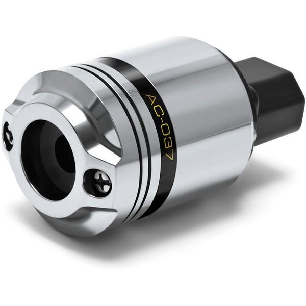 【〜4/15(月)23:59まで最大P16倍】OYAIDE AC-037 IECコネクター オヤイデ AC037(脱酸リン青銅 厚肉シルバー+ロジウム) ARMOREDシリーズ