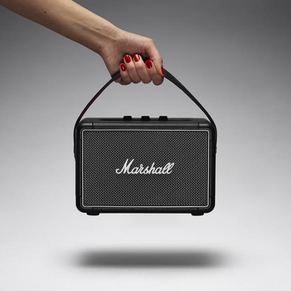 【ポイント10倍】Marshall Kilburn II Black Bluetooth対応ポータブル・アンプ内蔵スピーカー ZMS-1001896 【616】 【P10】